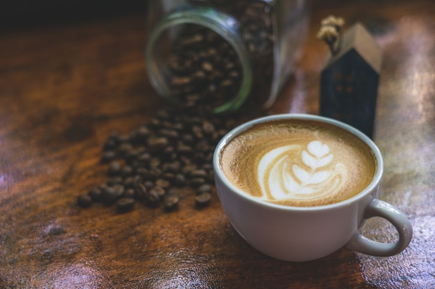 ホワイトコーヒーマグ