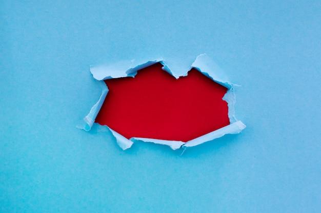 あなたのテキストの準備ができて引き裂かれた紙