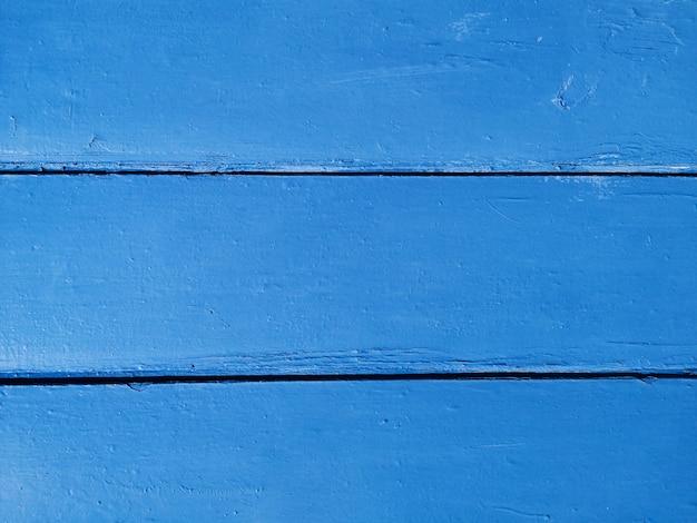 青い木製の背景