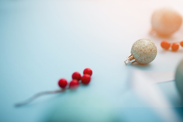 美しいクリスマスボール
