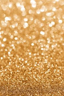 黄金の輝き。キラキラ背景。