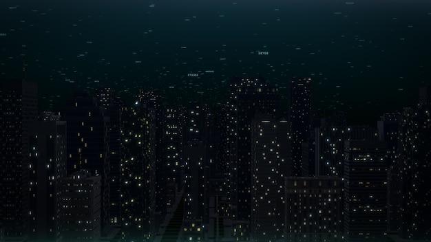生成されたコンピューター都市