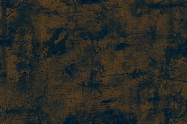 グランジ金属の背景、黄色の鋼のテクスチャを着用