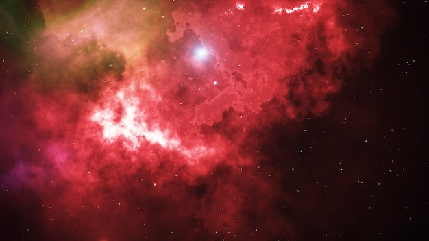 オープンスペース、宇宙の星と星雲
