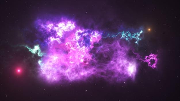 宇宙星雲の背景