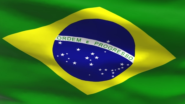 Бразильский флаг