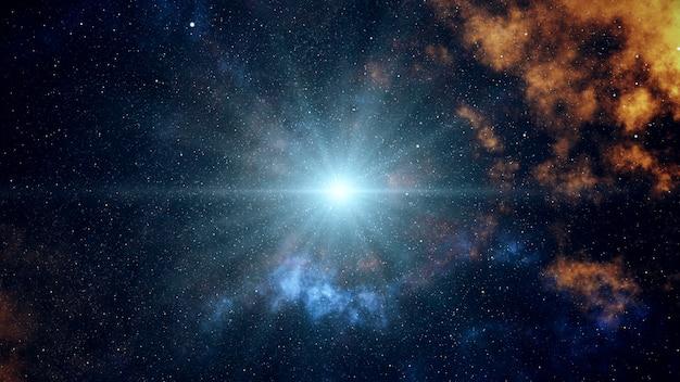 Большой взрыв в космосе
