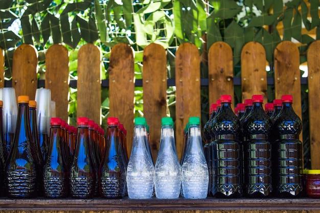 Разные алкогольные напитки домашнего производства