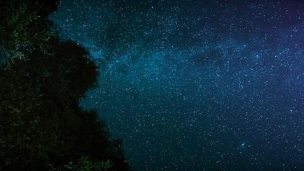 夜空の天の川