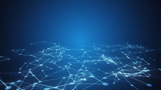 テクノロジー接続形状。