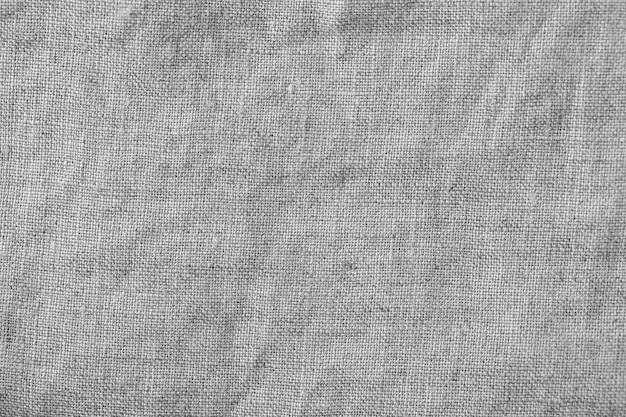 Серый льняной холст фон