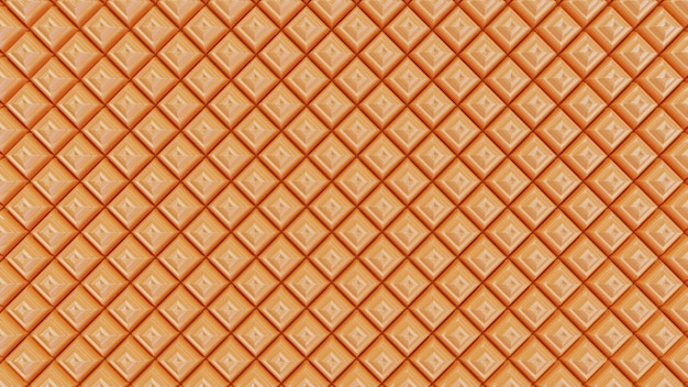 シームレスなオレンジ色の背景パターンピラミッド形