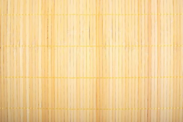 竹マットの質感