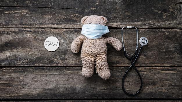 Концептуальный образ здоровья сердца детей