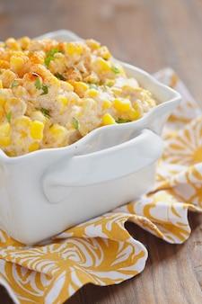 Сливочный кукурузный салат