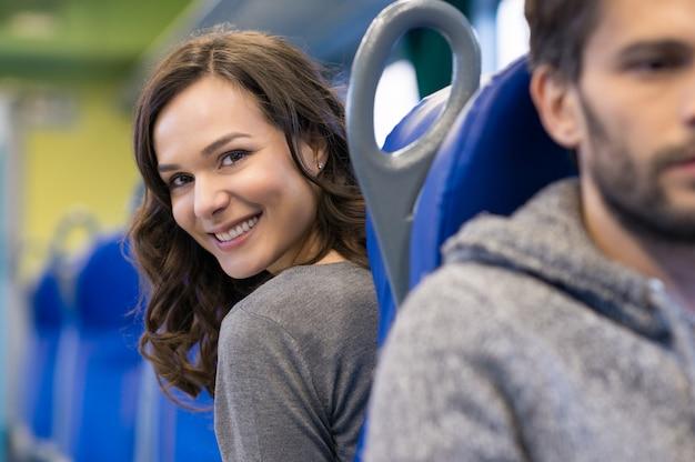 幸せな乗客
