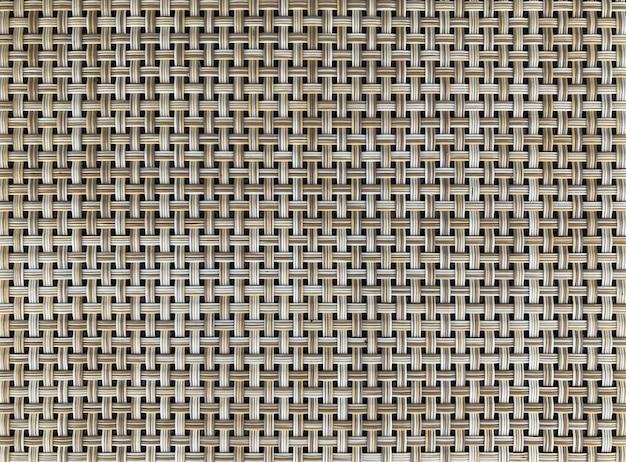 自然なスリムな竹の木織り目加工の表面の背景。