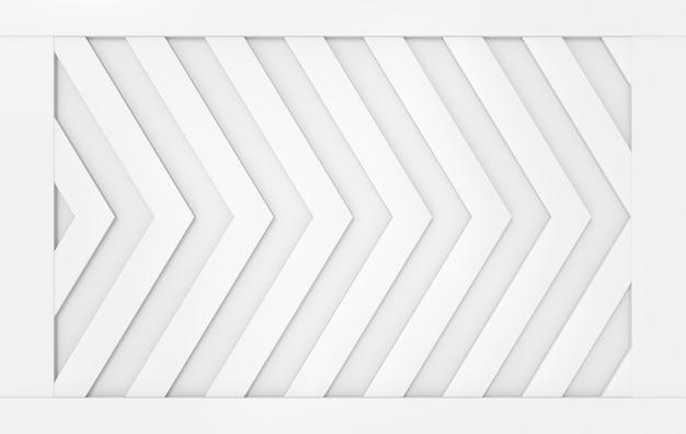 モダンなグレーの三角形の矢印パターン壁デザインの背景。