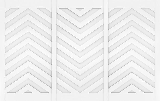 モダンなグレーの三角形ジグザグパターン壁デザインの背景。