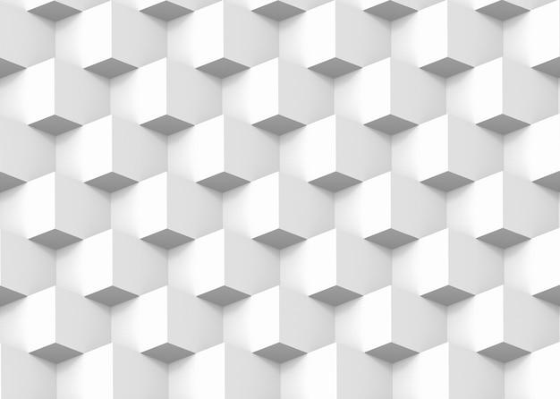 モダンなスクエアボックスグリッドスタックパターン壁デザインの背景。