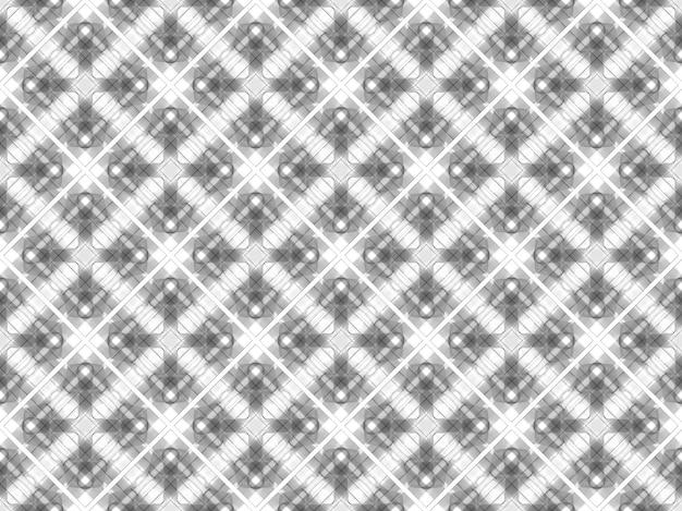 シームレスなモダンな白い正方形グリッドアートパターン壁テクスチャ背景。
