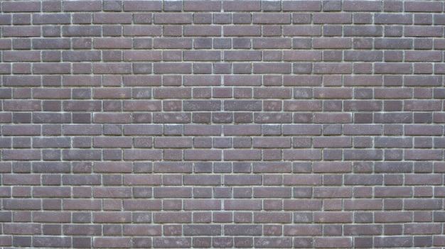 風化した古い暗いレンガブロックスタック壁のテクスチャ面