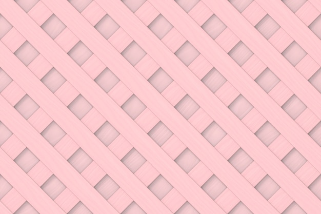 シームレスなパステル調のピンク色の木製パネル。