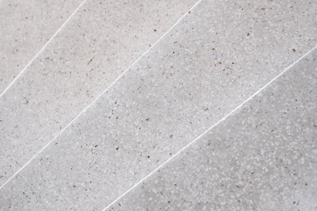 階段テラゾー磨かれた石の通路と床