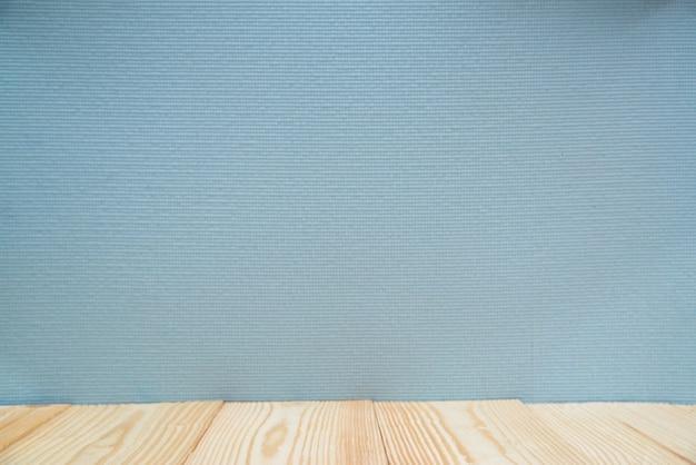 木製の棚と壁の背景
