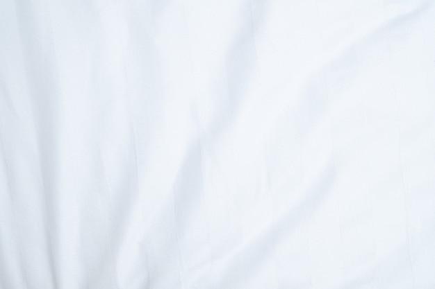 布や寝具シートの白い繊細な柔らかい背景