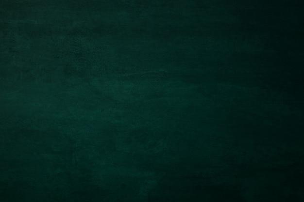 空の緑の黒板または教育委員会の背景とテクスチャ、教育および学校のコンセプトに戻る。