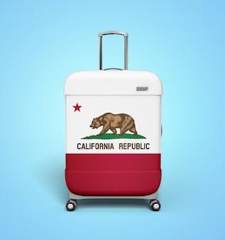 カリフォルニアのスーツケース - バケーション