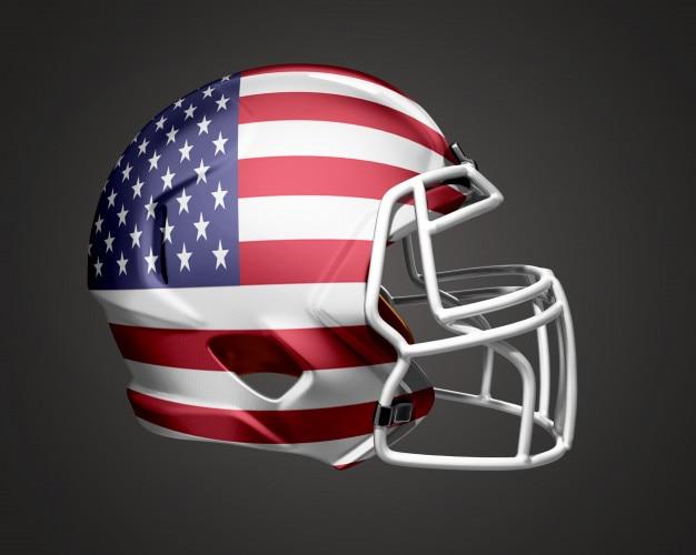 アメリカフットボールヘルメット