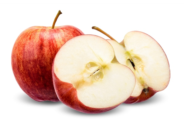 アップル、クリッピングパスで白に分離