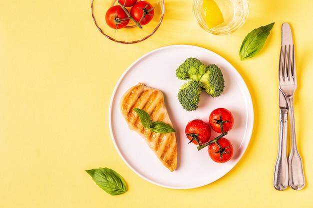 健康的できれいな食事、ビーガン、デトックス、ダイエット食品のコンセプト