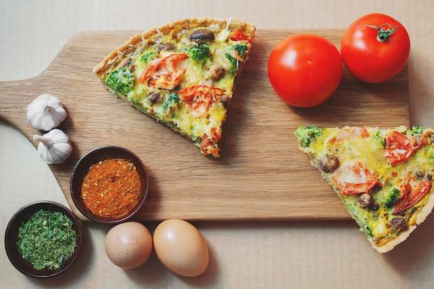 Состав овощей и выпечки