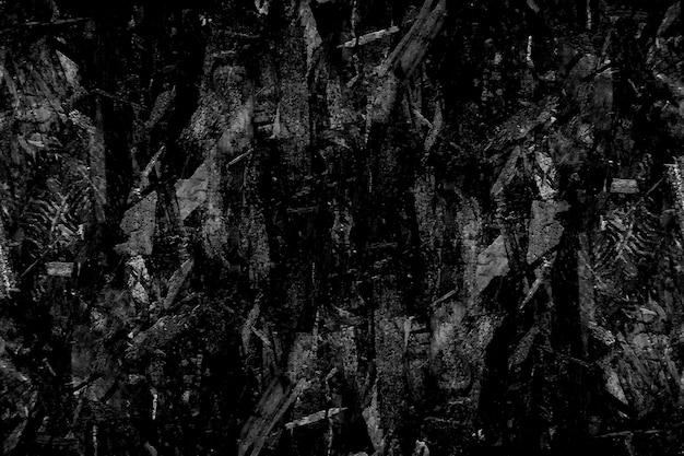 Гранжевая черная текстура