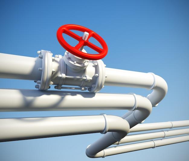 ガスまたは石油の産業パイプライン
