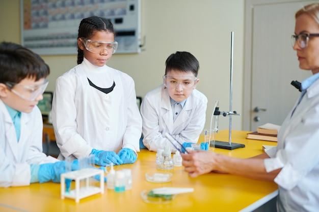 Изучение химического вещества