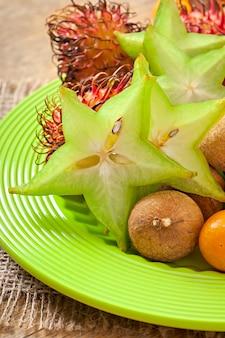 Тропические фрукты в таиланде