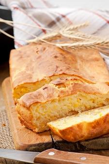 自家製チーズパン