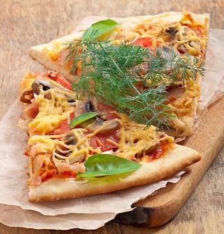 Ломтики пиццы