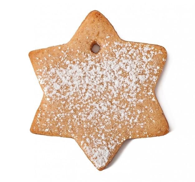 Домашнее печенье, посыпанное сахарной пудрой