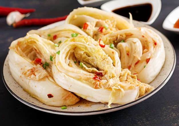 Азиатская традиционная квашеная капуста