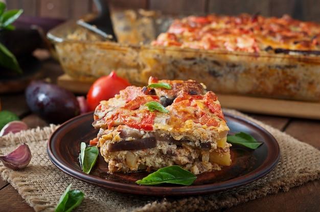 ギリシャムサカ料理