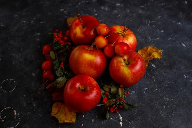 赤いリンゴの組成