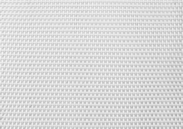 白い織りパターンから抽象的な背景。背景をきれいにしてきれいにします。