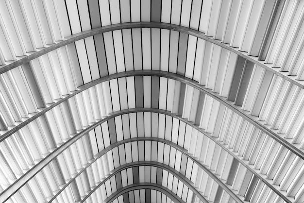 屋根のパターン、グレーの色調。建築、抽象的な背景。
