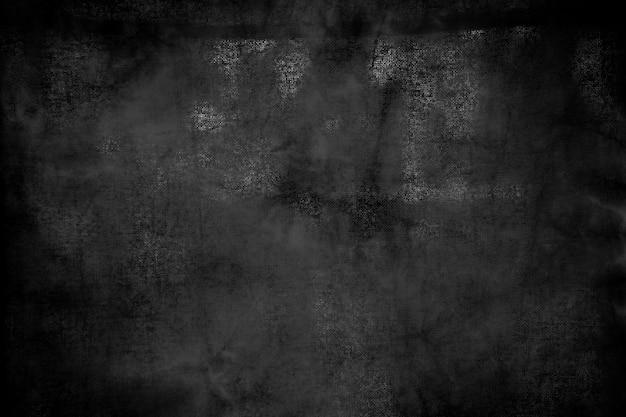 グランジと傷の古い黒い木製テーブルから抽象的な背景。