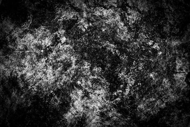 抽象的な背景のための黒と白のコンクリートテクスチャ